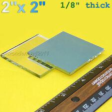 "2 Pcs First 1st Surface Mirror,  Laser Optics, 2""X2"" First Surface, Mirror Only"