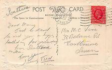 Fred - Mary Vine, 38 Belmore Rd. Eastbourne 1936 CB60