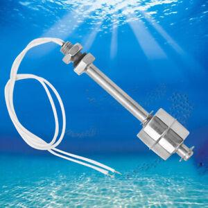1PCS 100mm Stainless Steel Float Switch Tank Liquid Water Level Sensor 0-220V UK