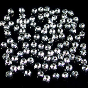 multi color Czech crystal faceted rondelle spacer beads 2x3 3x4 4x6 6x8 8x10mm