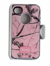 New Authentic Otterbox Defender Series Case for Apple iPhone 4/4S + Clip Holster