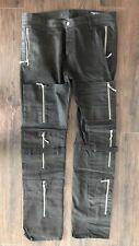 LEVIS Andy Warhol Edition Punk Black Jeans Size 38 Waist