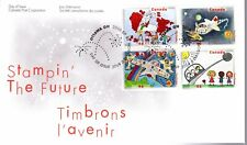 2000 #1859-62 Stampin' The Future FDC with CP cachet