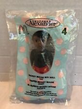 McDONALDS 2004 MADAME ALEXANDER MICKEY MOUSE BOY DOLL #4 - NEW & SEALED