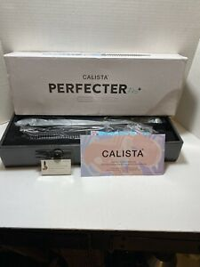 Calista Perfecter Pro + Grip Styler Curling Brush Turquoise Floral Thermal Bag