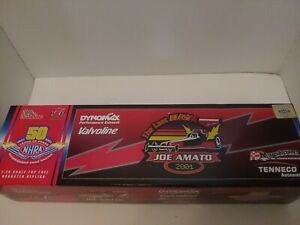 Joe Amato Top Fuel Dragster 1:24 Dynomax Valvoline Racing Rare GOLD Edition