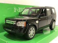Land Rover Discovery 4 Black 1:24/7 Scale Welly 24008BLK