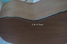 "Guitar Flexible Purfling Paua abalone Genuine Solid,W:2.0mm,Length:1520mm/60"""