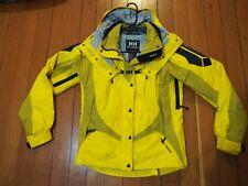 Helly Hansen Equipe HellyTech Yellow Womens Ski Snowboard Jacket Coat Medium 0d845d02c