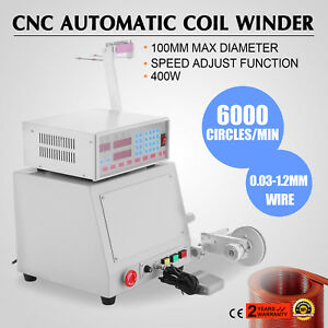 Computer CNC Automatic Coil Winder Winding Machine for 0.03-1.2mm wire 110V