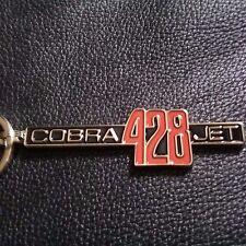 """1969-1970 mustang """"428 cobra jet"""" fender emblem keychains"""