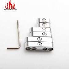 Universal Chrome Spark Plug Wire Loom Set / Dividers / Separators 7,8, 8.8, 9mm