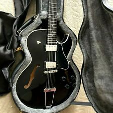 Guitar specs Black Gibson ES 135 LTD.  57 Humbuckers. w/ CASE ~ EUC CLASSIC