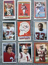Huge New England Patriots Sticker Lot John Hannah Stanley Morgan Steve Grogan