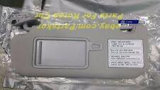 2012 ~ HYUNDAI i30 Elantra GT SUN VISOR DRIVER SIDE GRAY (Trim code TX) Genuine