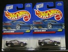 2 NEW HOT WHEELS TOYOTA MR2 1086 PURPLE 4