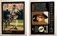 Jack McDowell Signed 1993 Pinnacle #80 Card Chicago White Sox Auto Autograph