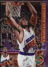1996-97 Stadium Club Matrix Phoenix Suns Basketball Card #57 Charles Barkley