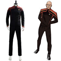Star Trek Picard-Jean-Luc Picard Cosplay Costume Halloween Uniform Suit