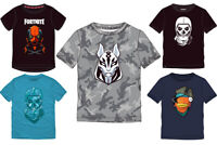 Epic Fortnite T-Shirt Jungen Skull Fish Vertex Drift Gr. 140,152,164,176 Neu Top