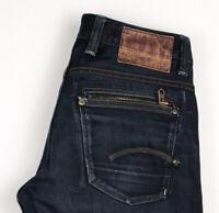 G-Star Raw Herren Attacc Niedrig Gerades Bein Jeans Größe W32 L32 ASZ375