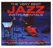 THE VERY BEST JAZZ INSTRUMENTALS - VARIOUS ARTISTS (NEW SEALED 3CD)