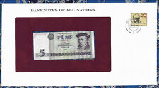 Banknotes of All Nations GDR East Germany 1975 5 Mark UNC P 27a IH017588