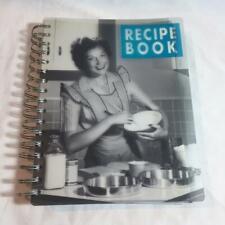Vintage Mid Century Photo Housewife Blank Journal Recipe Book Unused