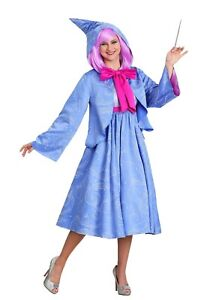 Women's Disney Cinderella Fairy Godmother Costume Size S (Used with defect)