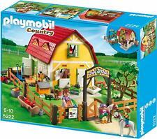 Playmobil 5222  Ponyhof  aus 2012 Bauernhof Pferde Haus OVP NEU!