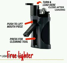 New Lighter and Pipe in One Smoking Pipe and Lighter Uk Seller Black Colour