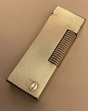 Dunhill Silver Plated 'Barley' Rollagas Lighter- Fully Overhauled