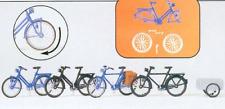 Preiser 17161 Bicycles (Pk4) & Trailer Kit Unpainted Figures HO Gauge