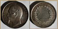 Medaille Napoleon III. 1859 Frankreich Alliance Franko Sarde Geschichte sf