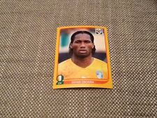 #542 Didier Drogba Ivory Coast Panini World Cup 2010 GOLD SWISS EDITION sticker
