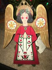 """RARE-1992-Denise Calla- HOH-Simple Gifts Angel Tree Topper- House Of Hatten 11"""""""