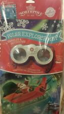 NEW Hallmark Northpole Polar Explorer Map 3D Goggles, Activities, & Stickers (4a