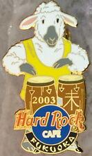 Hard Rock Cafe FUKUOKA 2003 YEAR of the SHEEP PIN Bongo Drums Player HRC #16649