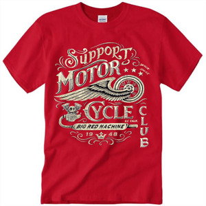 Hells Angels Support 81 Pin 12 Year Anniversary Red t Shirt