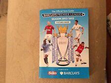 Barclays Premier League 2012-13 Luminaire Guide