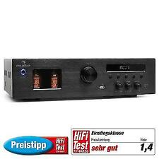 Auna Tube 65 HIFI Stereo Receiver 2 X 60w RMS Speaker Amplifier Mp3 USB FM Radio