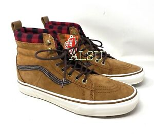 VANS SK8-HI MTE Glazed Ginger Tan Men's All Sizes Sneaker Boots VN0A33TXRIZ