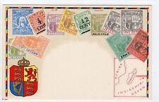 Maurice timbre carte (C1714).