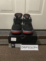 Nike Air Jordan IV 4 Bred Retro GS 408452-079 2012 sz 6.5Y
