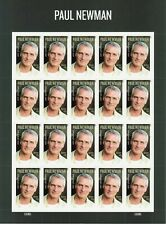Paul Newman Sheet of 20 Forever Postage Stamps Scott 5020