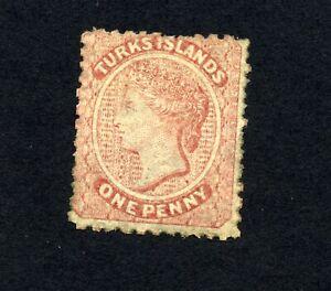 TURKS ISLANDS   NG   Sc 1   Queen Victoria    AA975