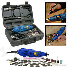 Variable Speed Rotary Cutter Tool Kit Grinder with Case & Accessories for Dremel