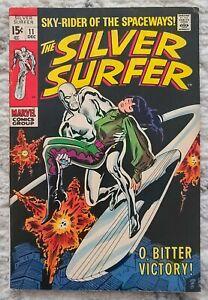 Silver Surfer #11. **HIGH GRADE VFNM**  FREE BONUS ITEMS