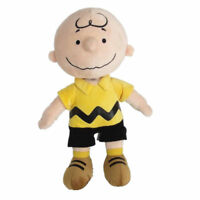 "Peanuts Charlie Brown Kohls Cares Plush Doll Stuffed Soft Collection Toy 9"" Gift"