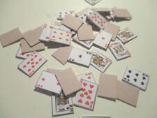 DOLLS HOUSE MINIATURE PLAYING CARDS BB
